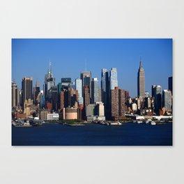 New York City Skyline 11 Canvas Print