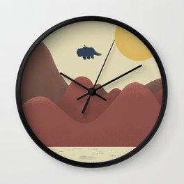Travelers Wall Clock