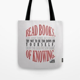 Care About Things Tote Bag