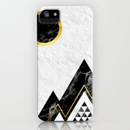 Black Mountains iPhone Case