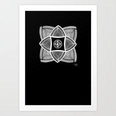 Mimbres Series - 11 Art Print