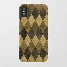 Wooden Diamonds iPhone X Slim Case