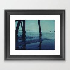 Glenelg Pier Framed Art Print