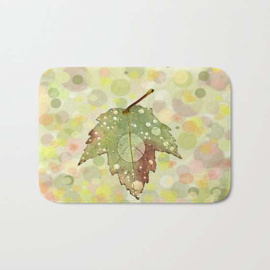 Just Leaf in Peace Bath Mat