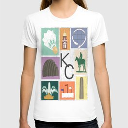 Kansas City Landmark Print T-shirt