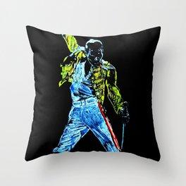 Freddie A Kind of Magic Throw Pillow