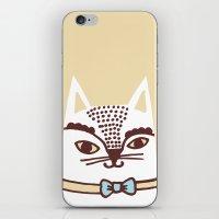 Katze #3 iPhone & iPod Skin