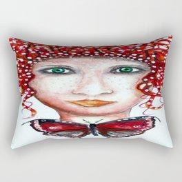 THE SCANDINAVIAN WOMAN  / ORIGINAL DANISH DESIGN bykazandholly  Rectangular Pillow