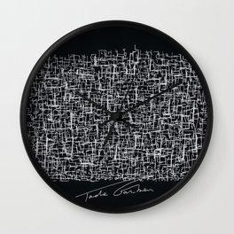 My brain from GoogleMaps Wall Clock