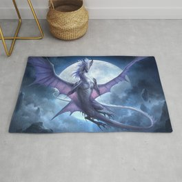 White Dragon v2 Rug