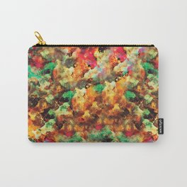 """""""I LOVE YOU script or abstract watercolor art with the same name Carry-All Pouch"""