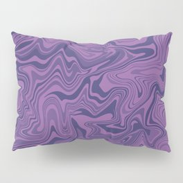 Two-toned purple Agate Pillow Sham