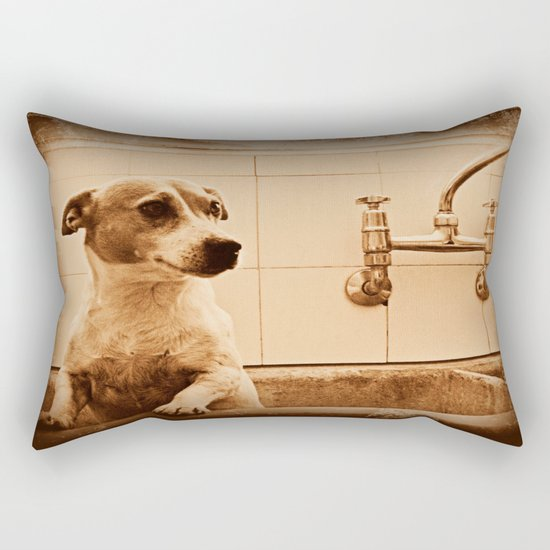 Bath Time Fun Rectangular Pillow