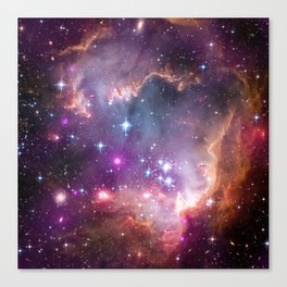 Under the Wing of the Small Magellanic Cloud Canvas Print