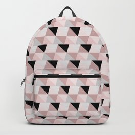 Pink eight Backpack