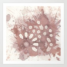 Cellular Geometry No. 2 Art Print