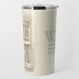 The Night Gardener - William Travel Mug