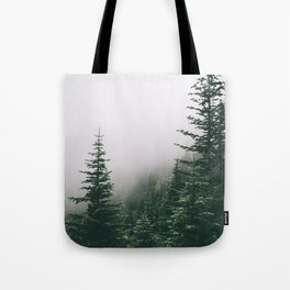 Moody Forest Tote Bag