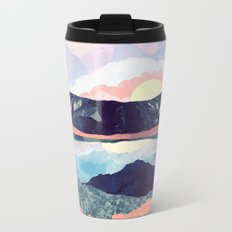 Lake Reflection Metal Travel Mug