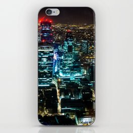 Lights of London iPhone Skin