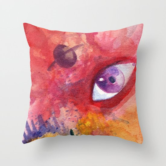 An Eye For the Surreal Throw Pillow