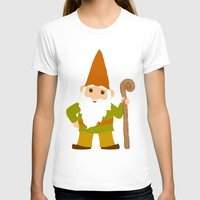 gnome T-shirts featuring gnome sweet gnome by Elephant Trunk Studio