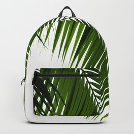 Palm Leaves Green Vibes #10 #tropical #decor #art #society6 Backpack