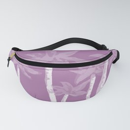 Pink Palms Fanny Pack
