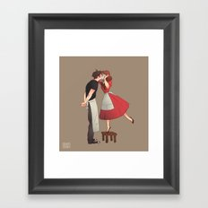 The Piemaker Framed Art Print
