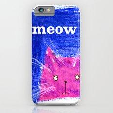 Crayon Cat iPhone 6s Slim Case