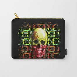 digital Skull (flag of spain) Carry-All Pouch