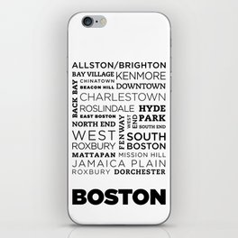 City of Neighborhoods - II iPhone Skin