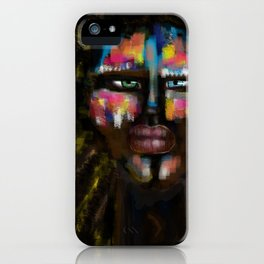 Human colors by Jana Sigüenza iPhone Case