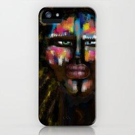 Human colors by Jana Sigüenza iPhone Case