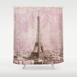 romantic Paris 2 Shower Curtain