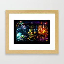 Metroid: 25 Years Framed Art Print