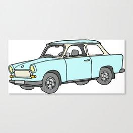 Trabant or Trabi. Car of GDR Canvas Print