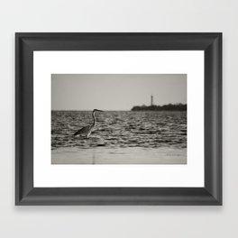 The flats  Framed Art Print