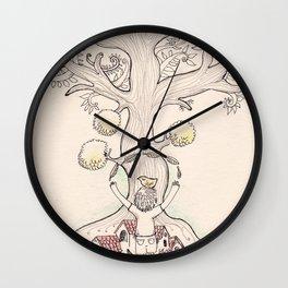 Tree Of Trees Wall Clock
