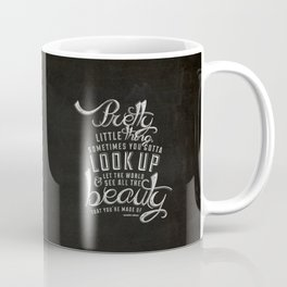 LYRICS - Pretty Little Thing Coffee Mug
