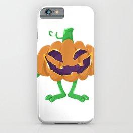 Great Creepy anesthesia Halloween pumpkin with laryngoscope iPhone Case