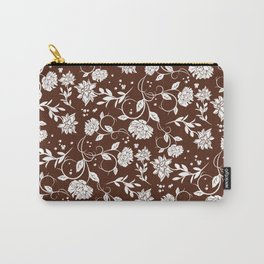 Poetry Garden Flower Carry-All Pouch