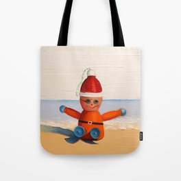 Orange at the Beach Tote Bag