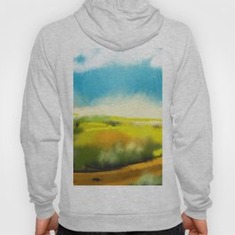 Colorful Abstract Landscape Hoody