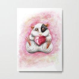 Sweet guinea pig Metal Print