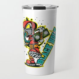 A black Hole, Where Father-Time Becomes A Ripping Torture T-shirt Design Alien Twirl Tunnel Time Travel Mug
