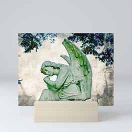 Angel's Thoughts Mini Art Print