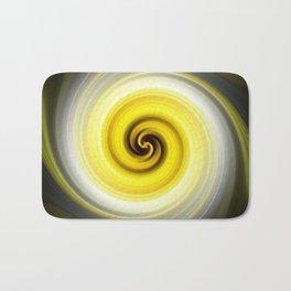 Twirl Yellow Bath Mat