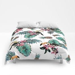 Tucan Tropical Pattern Comforters