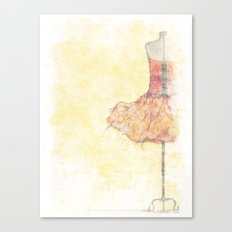 Dancer In Waiting Canvas Print